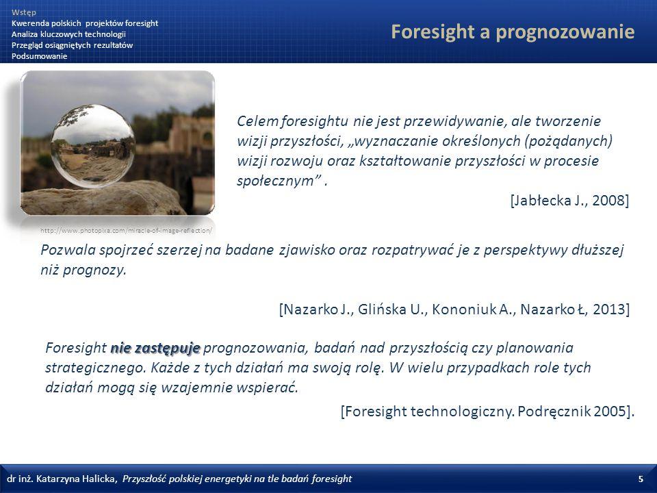 Foresight a prognozowanie