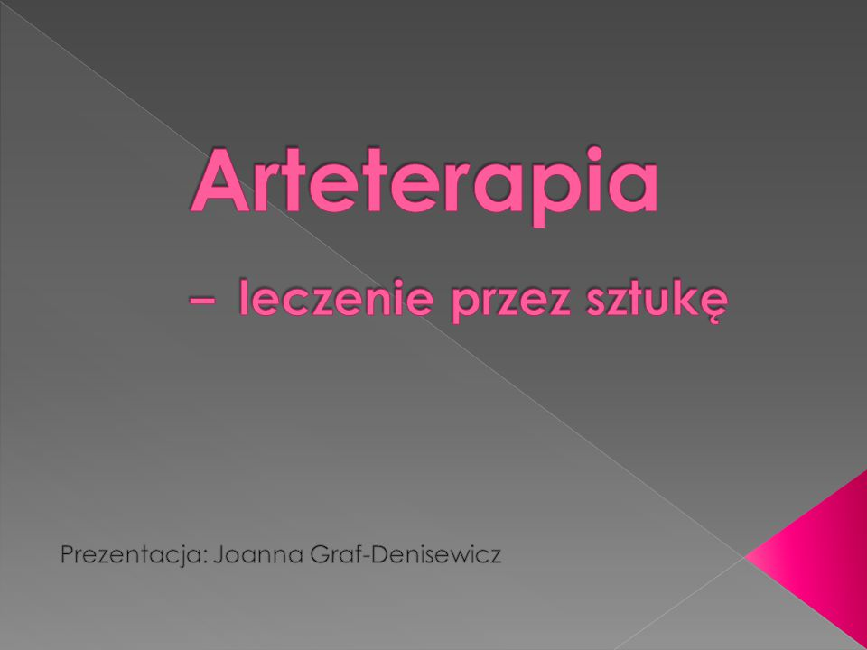 Arteterapia – leczenie przez sztukę