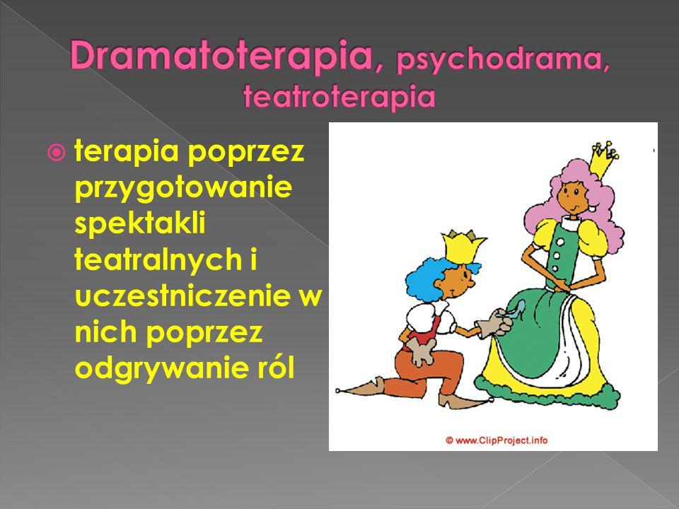 Dramatoterapia, psychodrama, teatroterapia