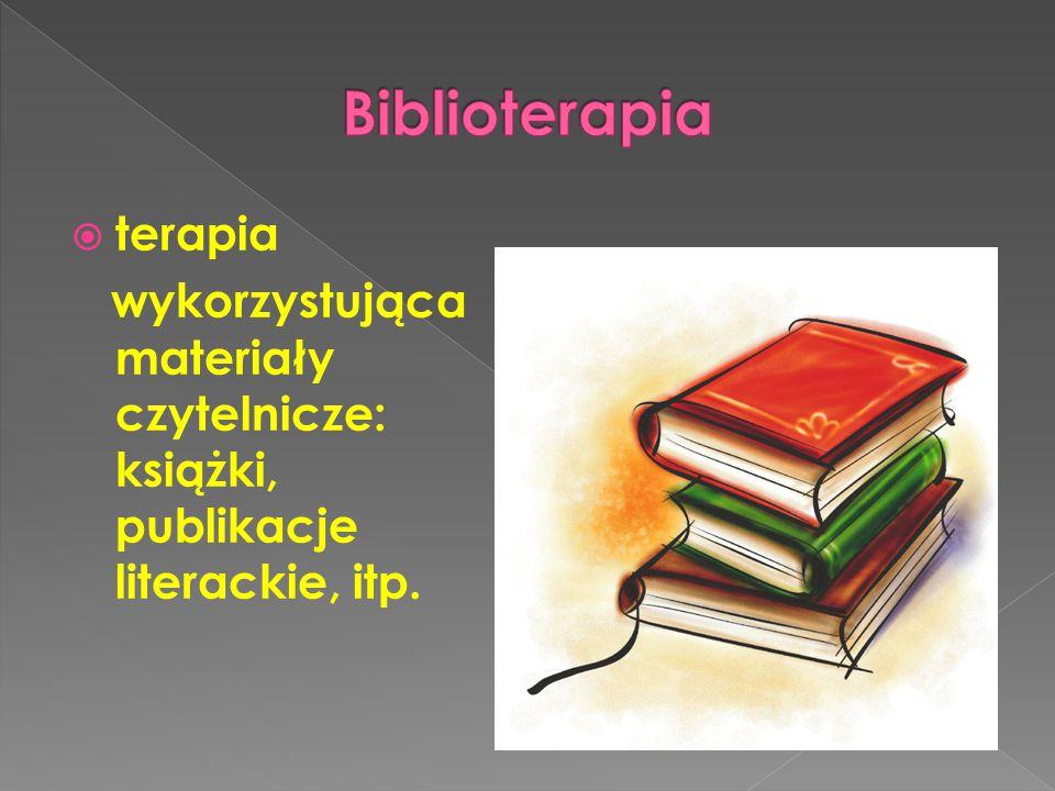 Biblioterapia terapia
