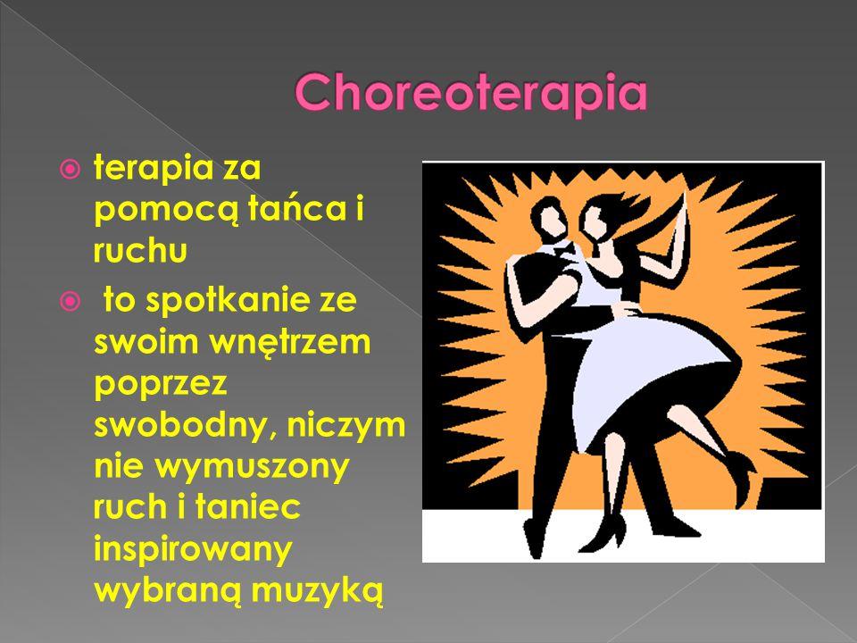Choreoterapia terapia za pomocą tańca i ruchu