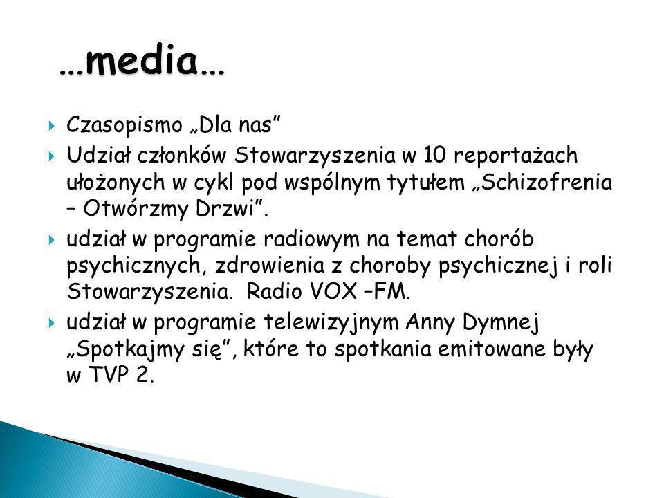 """…media… Czasopismo """"Dla nas"""