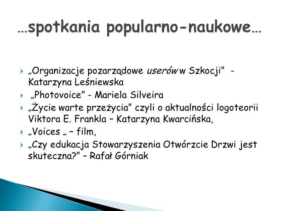 …spotkania popularno-naukowe…