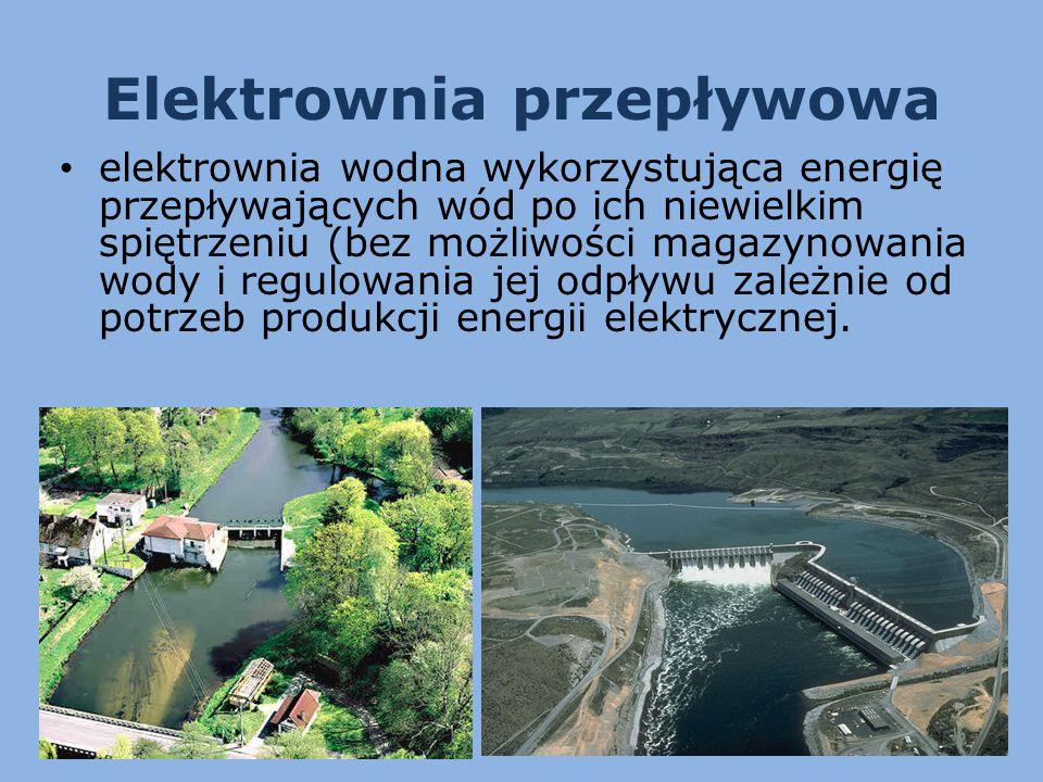 Elektrownia przepływowa