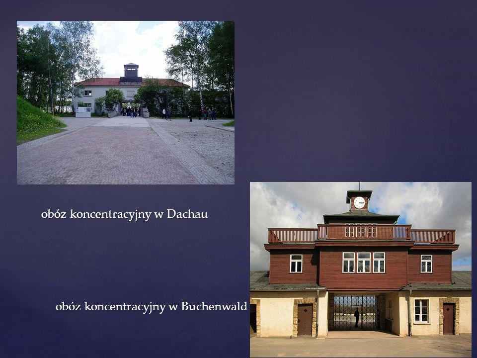 obóz koncentracyjny w Dachau