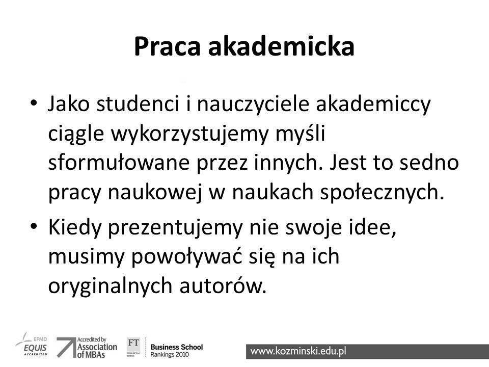 Praca akademicka