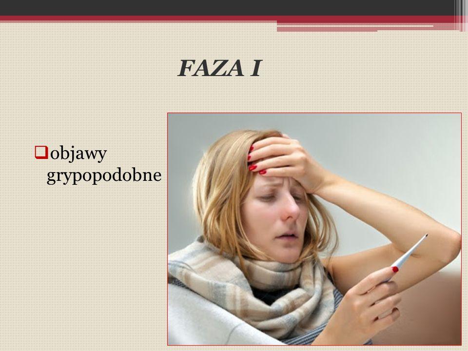 FAZA I objawy grypopodobne