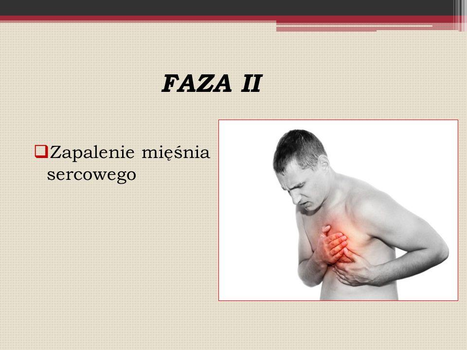 FAZA II Zapalenie mięśnia sercowego