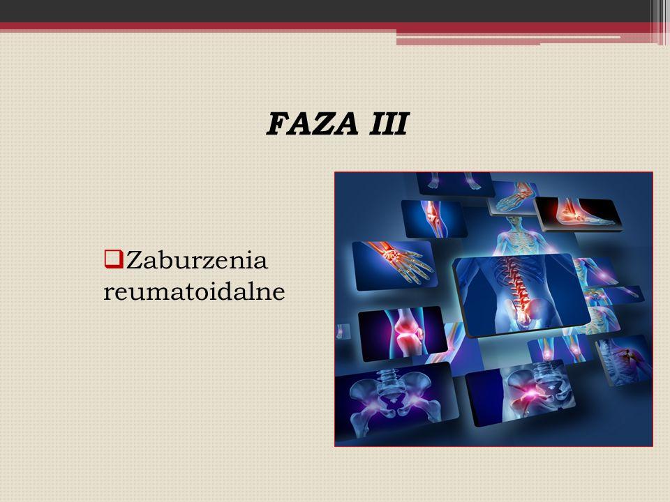 Zaburzenia reumatoidalne