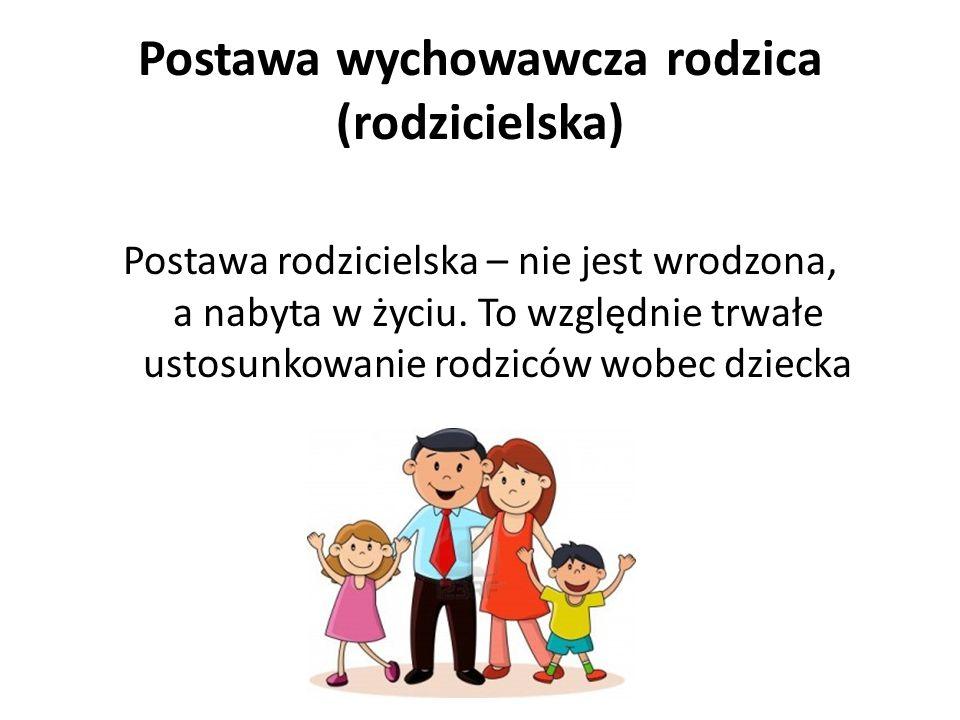 Postawa wychowawcza rodzica (rodzicielska)