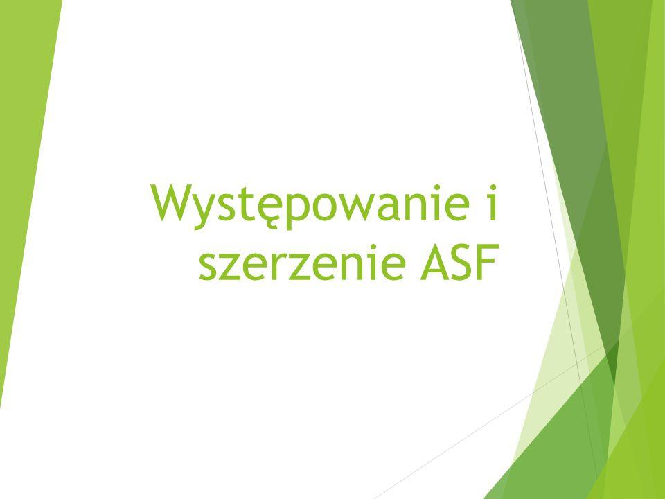 Występowanie i szerzenie ASF