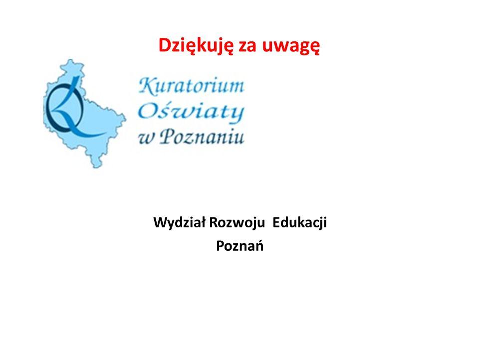 Wydział Rozwoju Edukacji Poznań