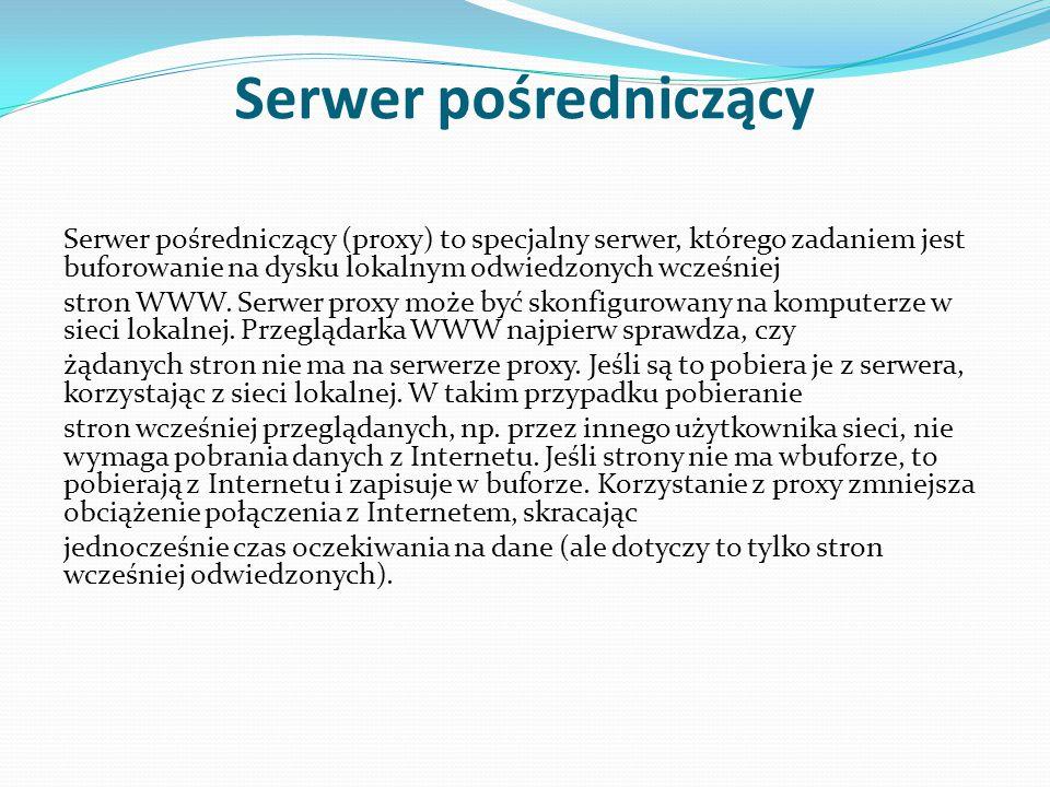 Serwer pośredniczący
