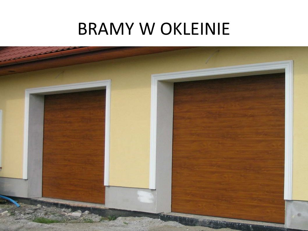 BRAMY W OKLEINIE