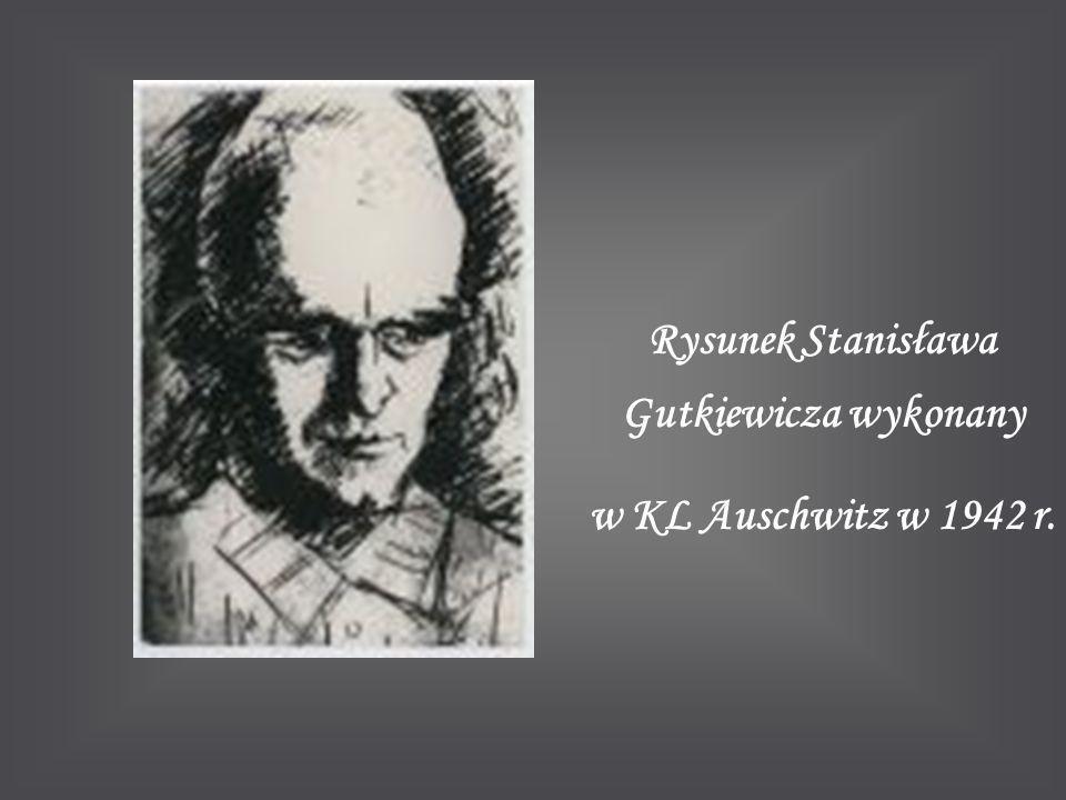 Rysunek Stanisława Gutkiewicza wykonany