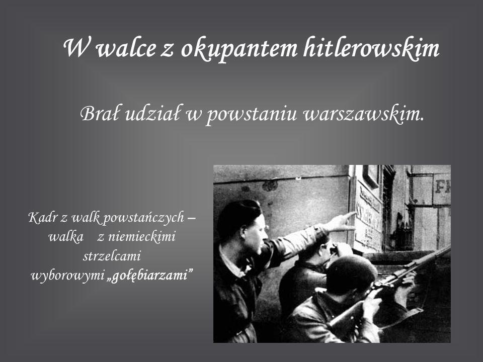 W walce z okupantem hitlerowskim