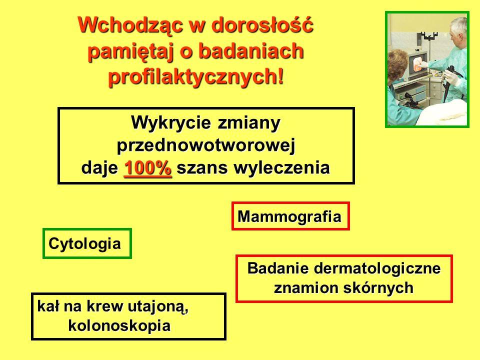 Wchodząc w dorosłość pamiętaj o badaniach profilaktycznych!