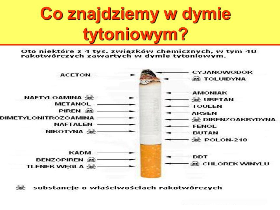 Co znajdziemy w dymie tytoniowym