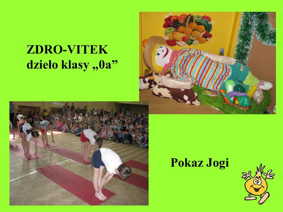 "ZDRO-VITEK dzieło klasy ""0a Pokaz Jogi"
