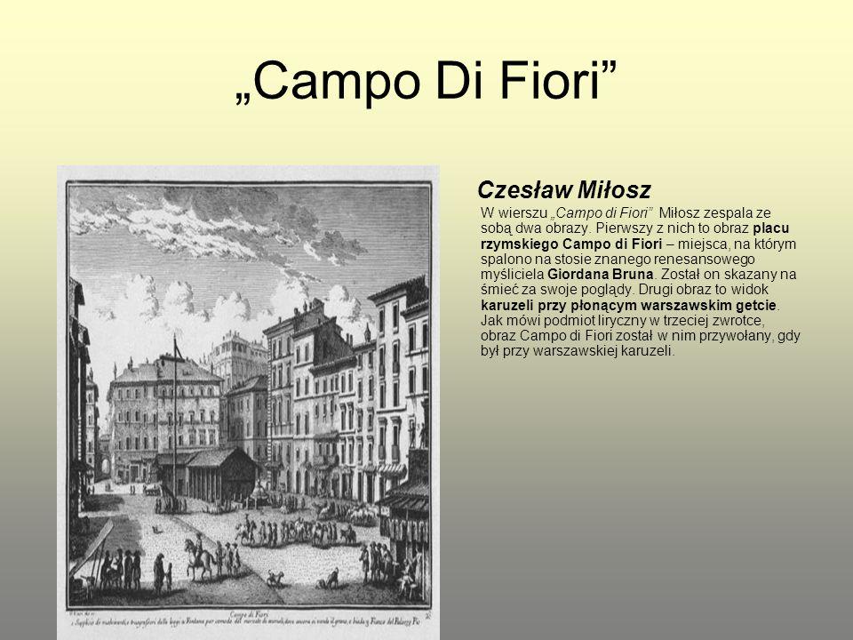 """""""Campo Di Fiori"""
