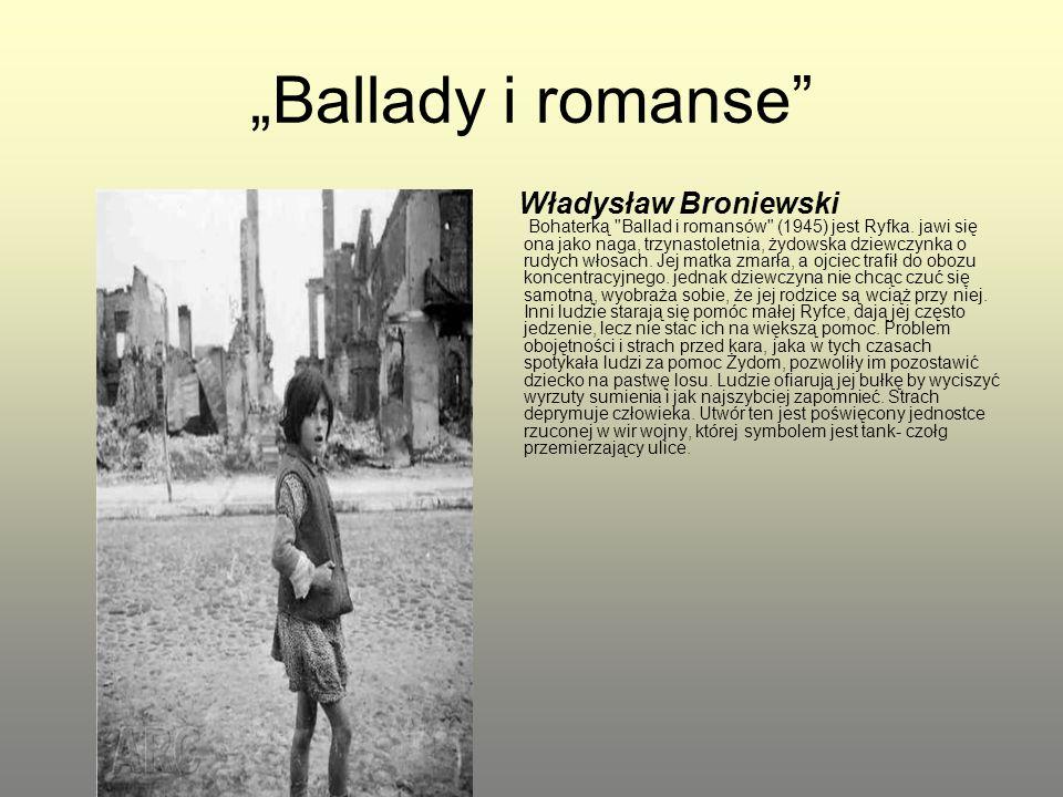 """Ballady i romanse"
