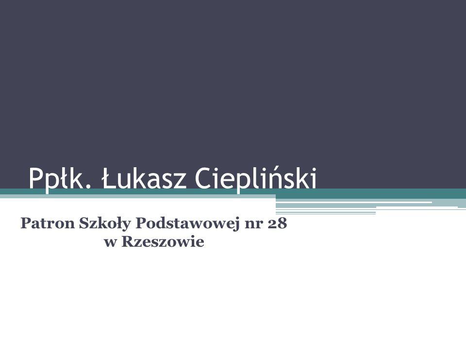 Ppłk. Łukasz Ciepliński