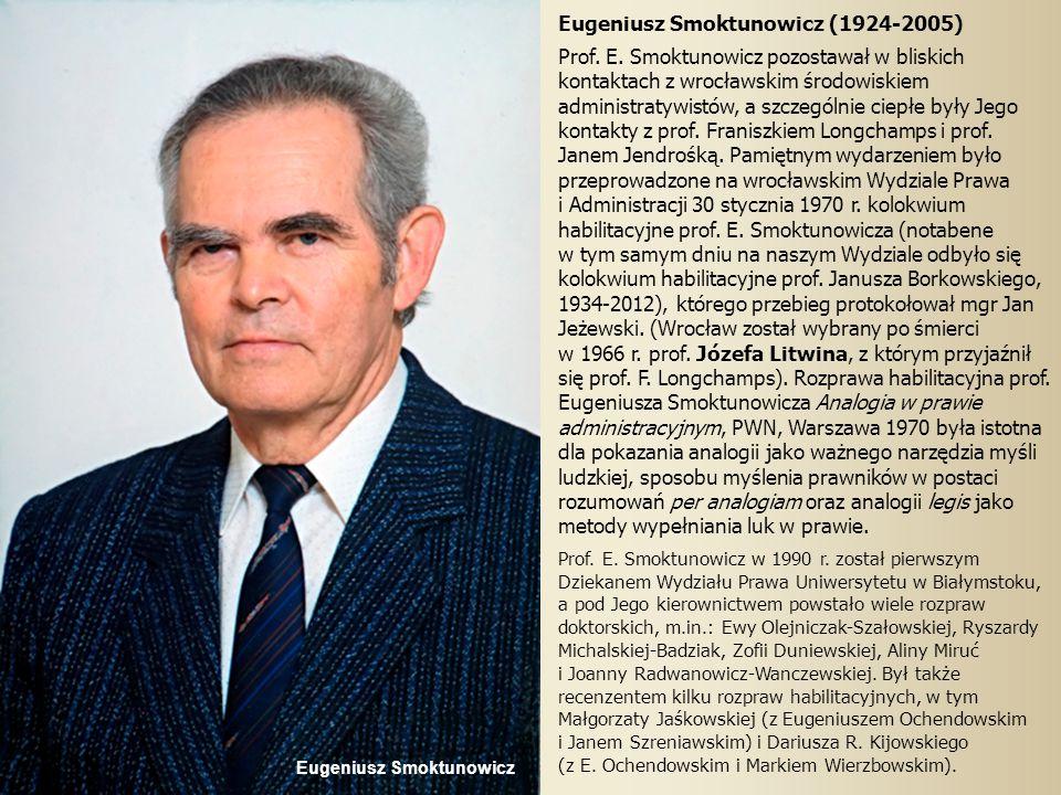 Eugeniusz Smoktunowicz (1924-2005)