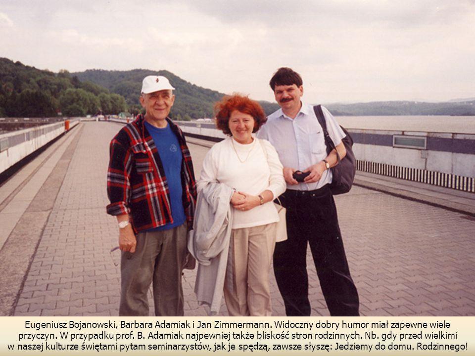 Eugeniusz Bojanowski, Barbara Adamiak i Jan Zimmermann