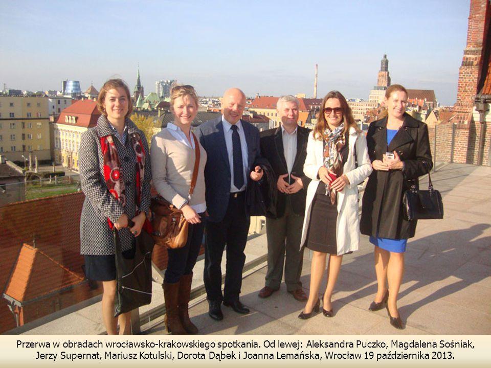 Przerwa w obradach wrocławsko-krakowskiego spotkania