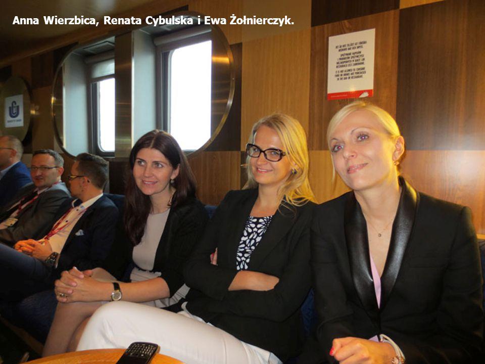 Anna Wierzbica, Renata Cybulska i Ewa Żołnierczyk.