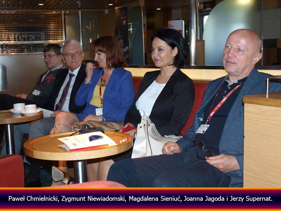 Paweł Chmielnicki, Zygmunt Niewiadomski, Magdalena Sieniuć, Joanna Jagoda i Jerzy Supernat.