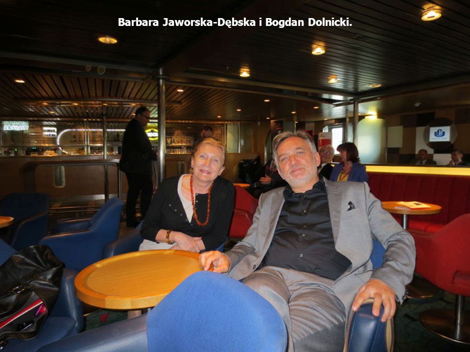 Barbara Jaworska-Dębska i Bogdan Dolnicki.