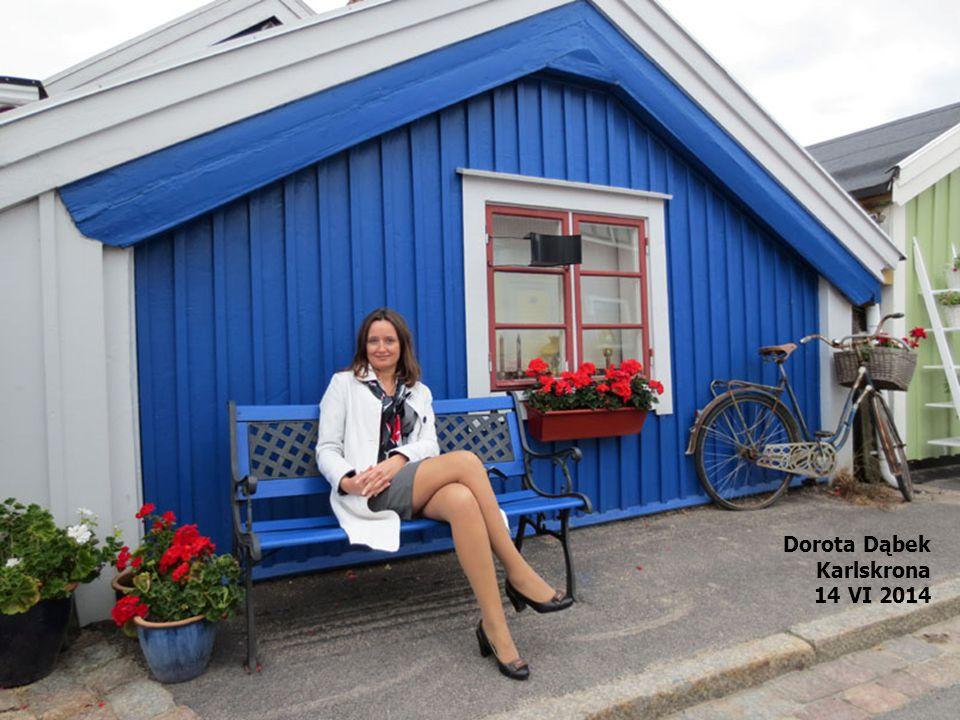Dorota Dąbek Karlskrona 14 VI 2014