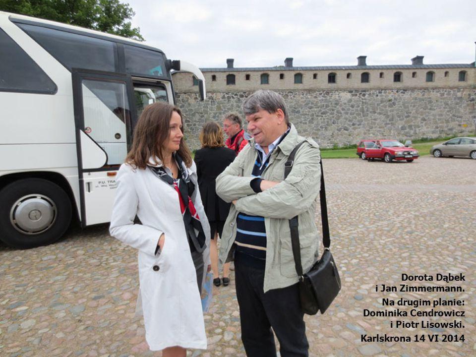 Dorota Dąbek i Jan Zimmermann. Na drugim planie: Dominika Cendrowicz.