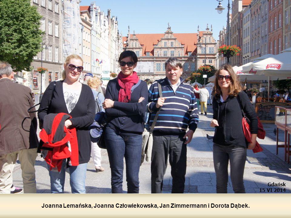 Joanna Lemańska, Joanna Człowiekowska, Jan Zimmermann i Dorota Dąbek.