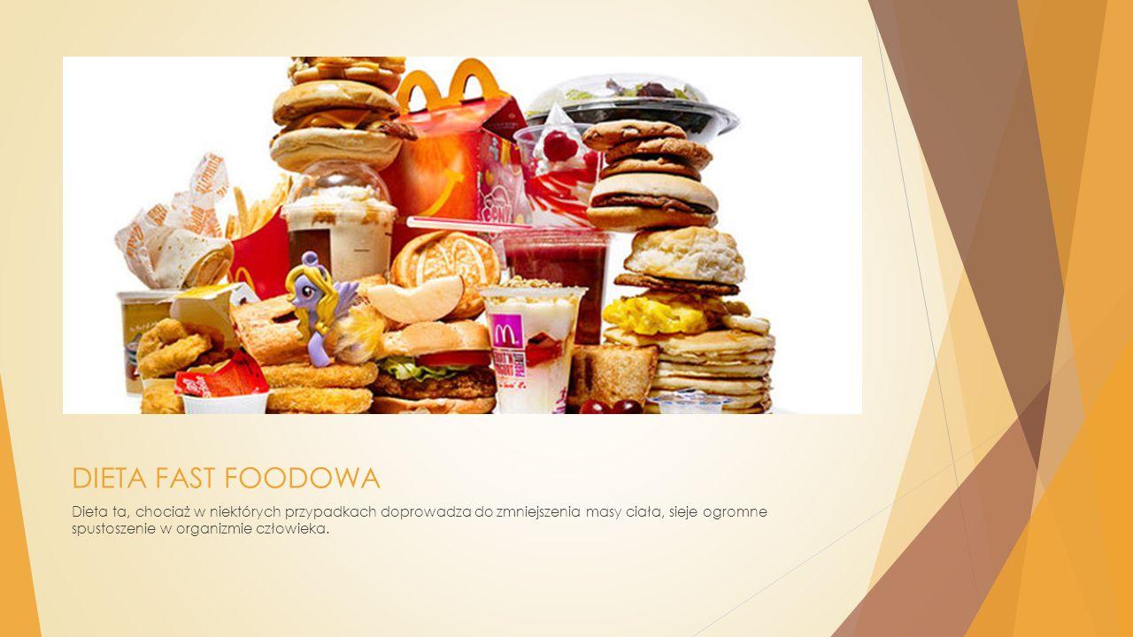 DIETA FAST FOODOWA