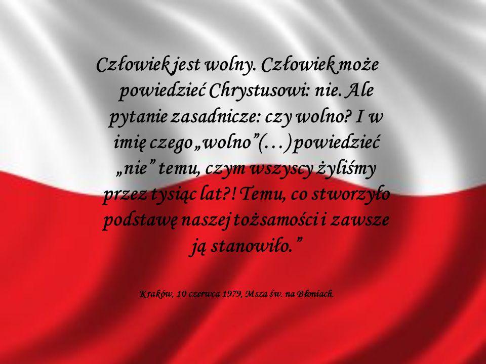 Kraków, 10 czerwca 1979, Msza św. na Błoniach.