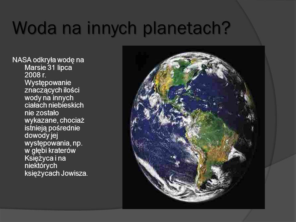 Woda na innych planetach