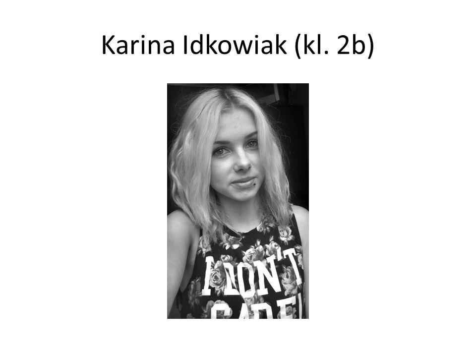 Karina Idkowiak (kl. 2b)