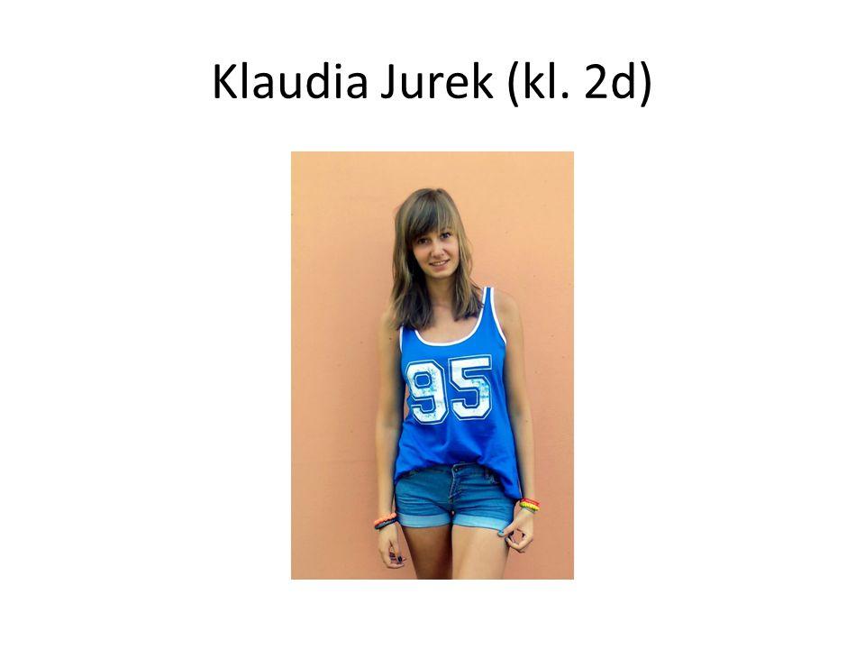Klaudia Jurek (kl. 2d)