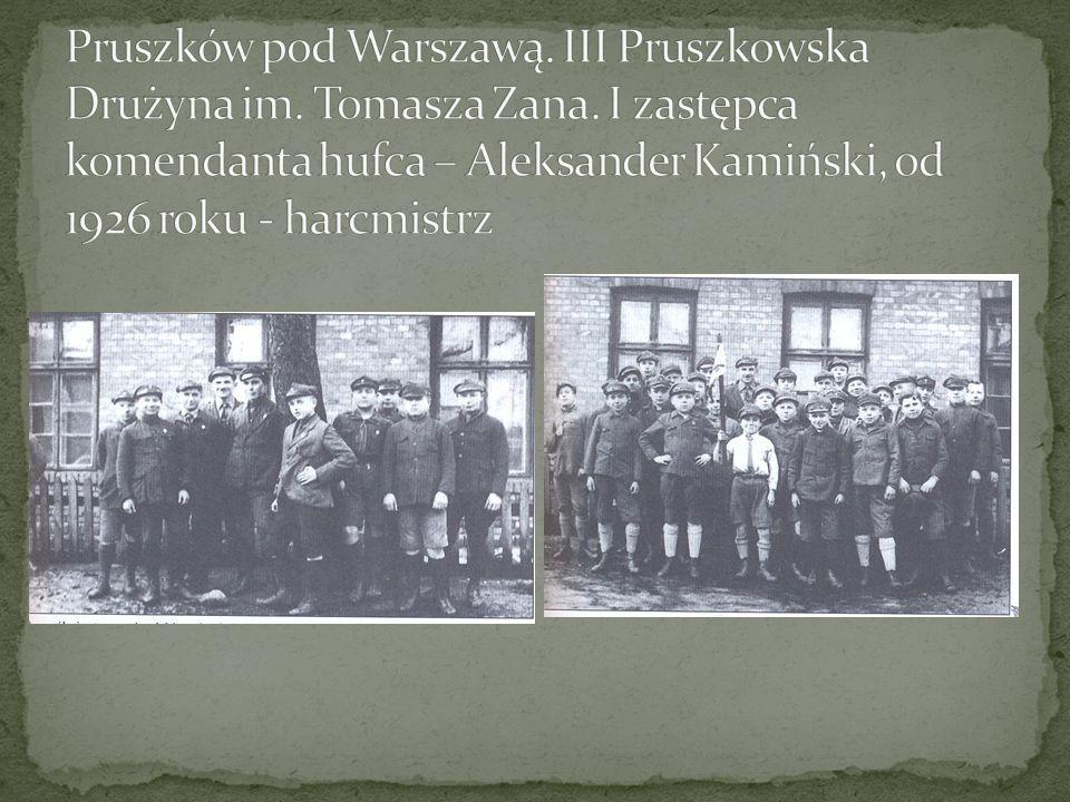 Pruszków pod Warszawą. III Pruszkowska Drużyna im. Tomasza Zana