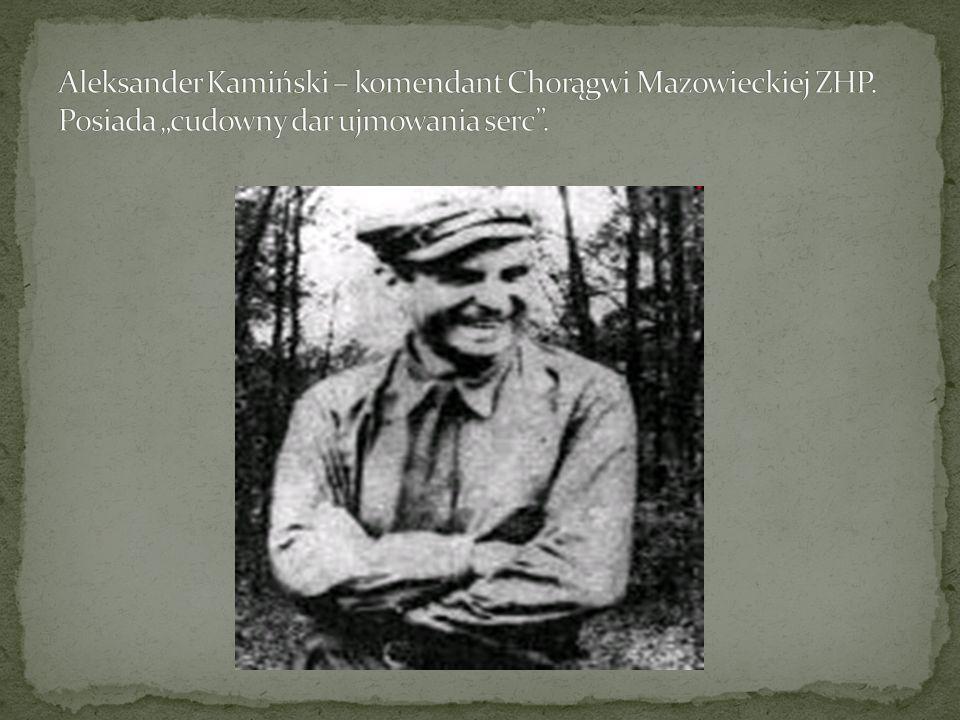 Aleksander Kamiński – komendant Chorągwi Mazowieckiej ZHP
