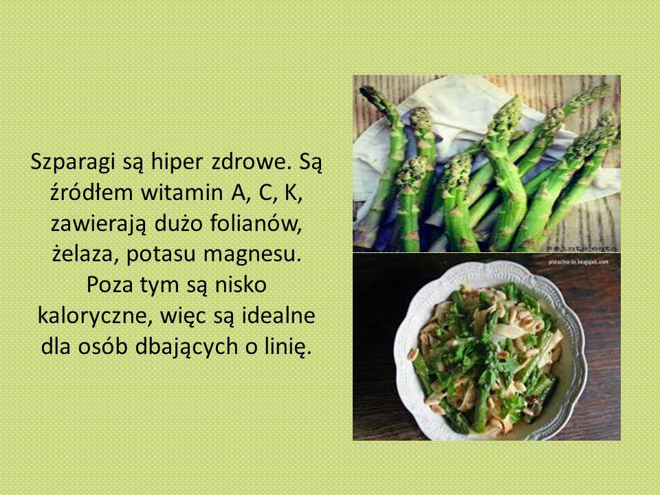 Szparagi są hiper zdrowe