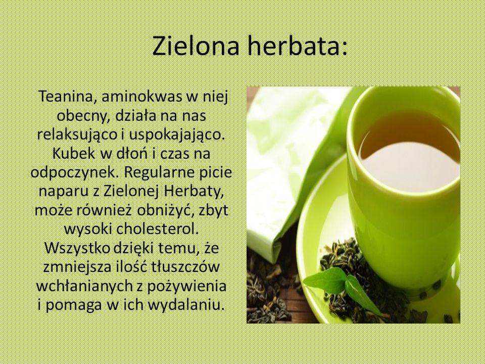 Zielona herbata: