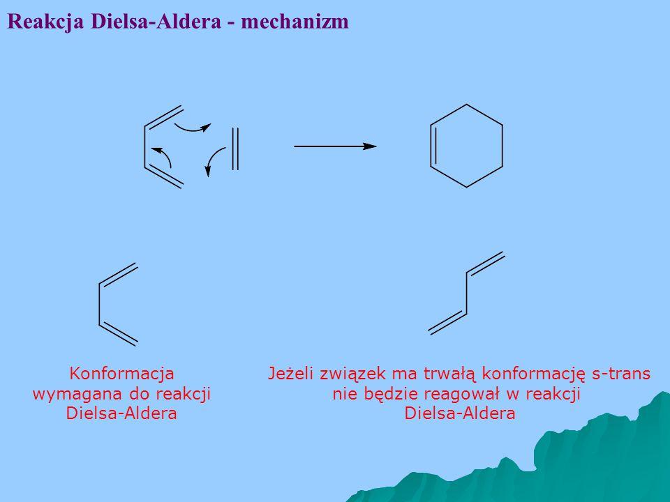 Reakcja Dielsa-Aldera - mechanizm