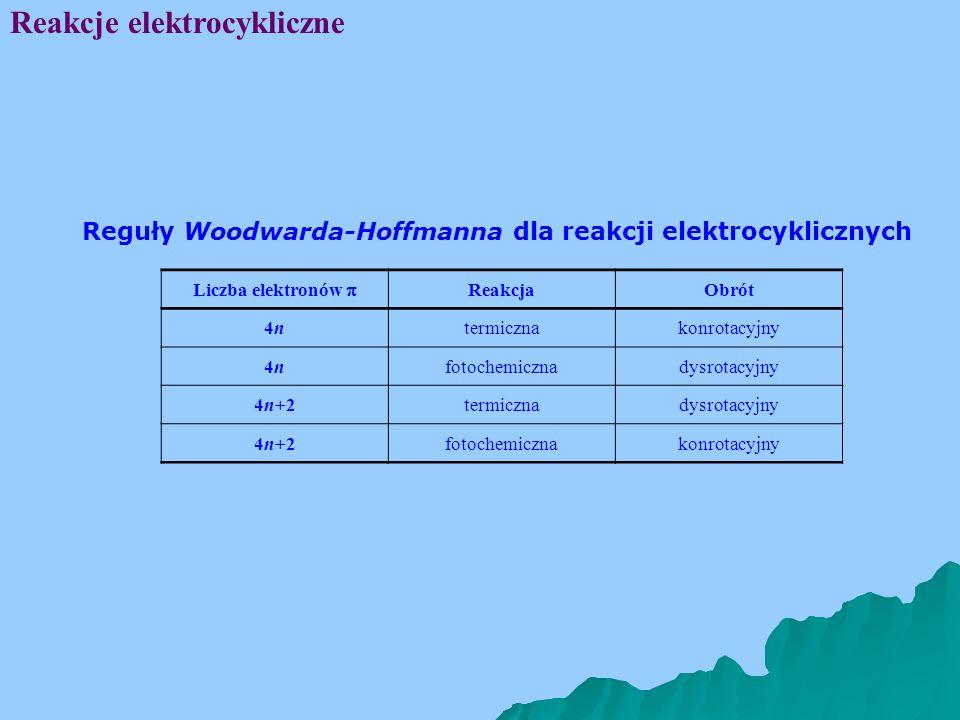 Reakcje elektrocykliczne
