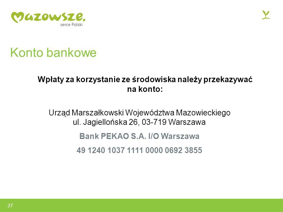 Bank PEKAO S.A. I/O Warszawa