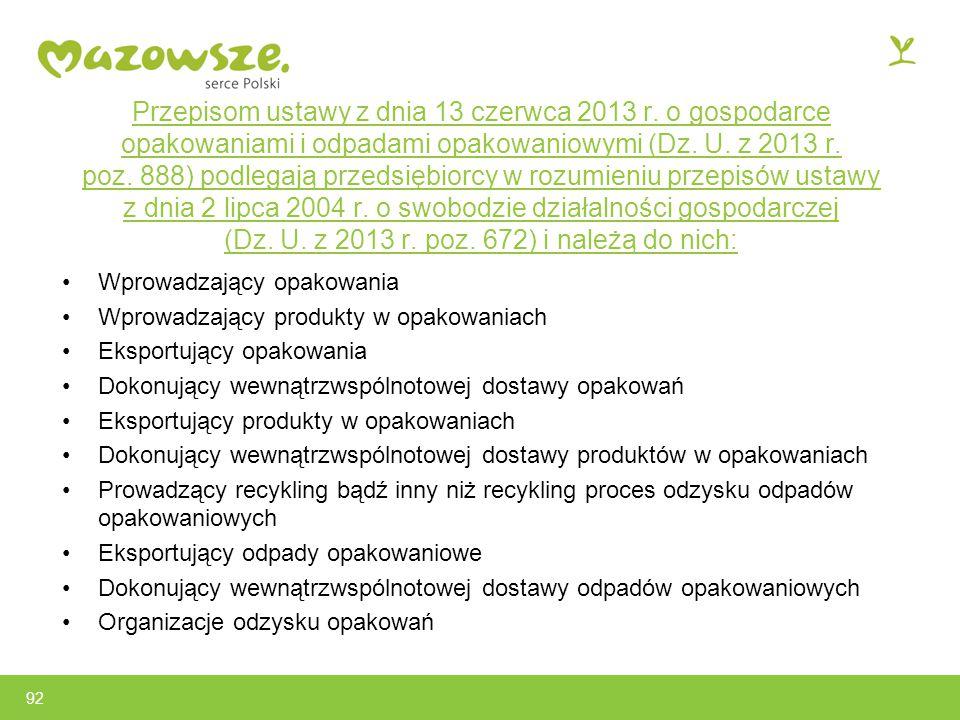Przepisom ustawy z dnia 13 czerwca 2013 r