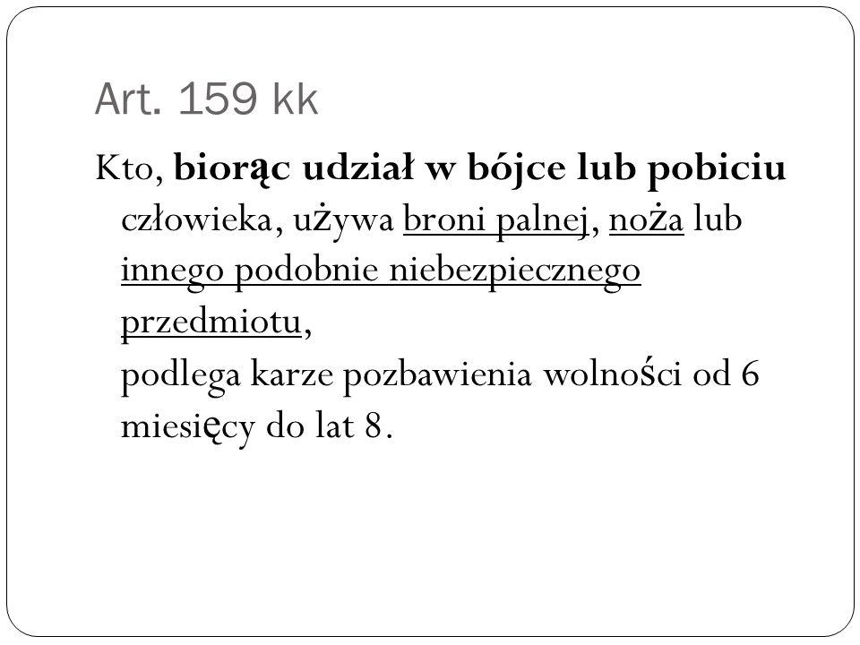 Art. 159 kk