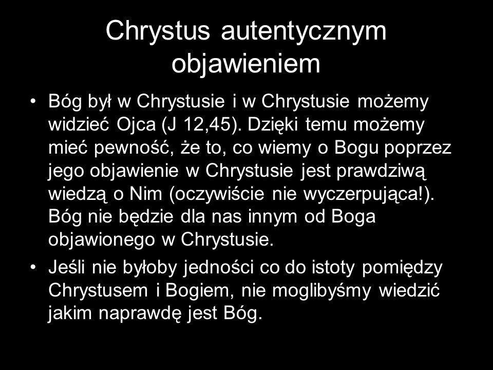 Chrystus autentycznym objawieniem